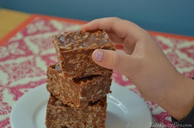 Crispy Chocolate Peanut Butter Squares