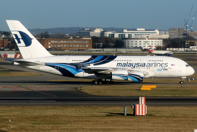 Malaysia Airlines | Airbus A380-800 | 9M-MNF | London Heathrow