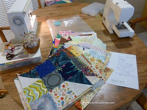 California Thomas Fire Quilts ~ From My Carolina Home | by Carole @ From My Carolina Home