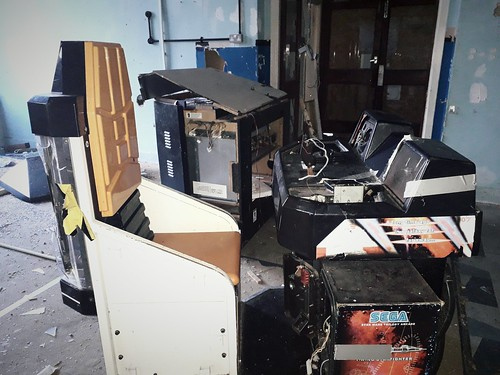 Abandon Gaming Arcade | by YesterdaysWorld17