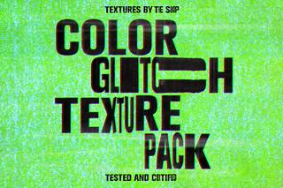 Color glitch textures | by Simon Birky Hartmann