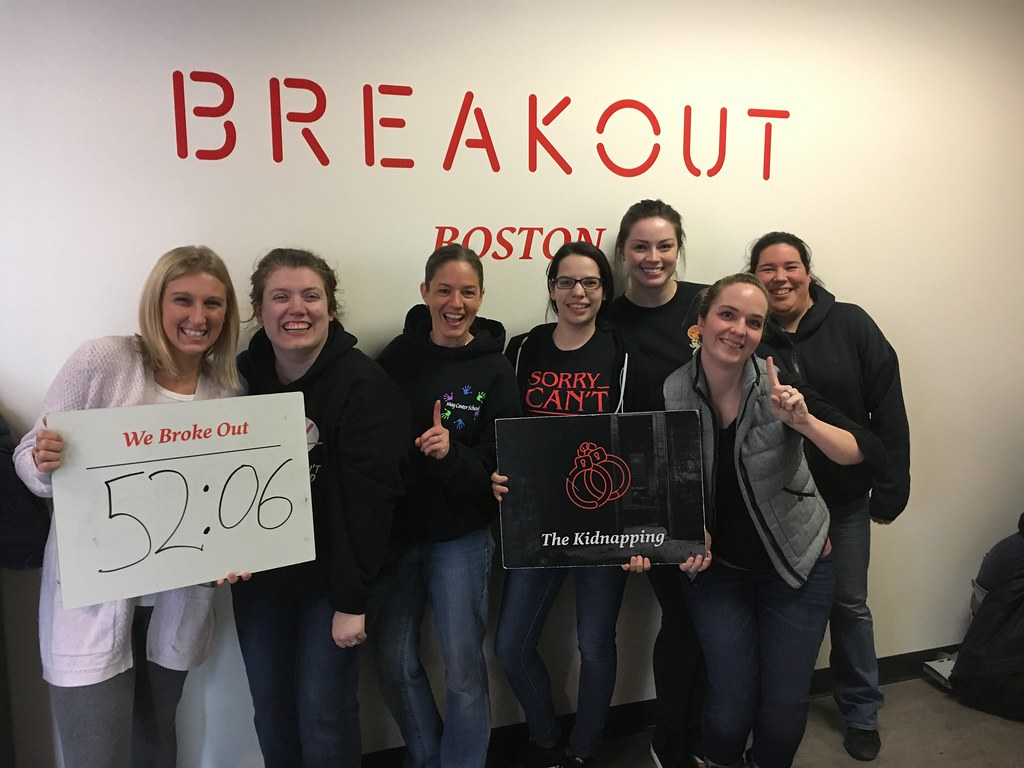 Wilmington Kidnapping Escape Room Winners May Center