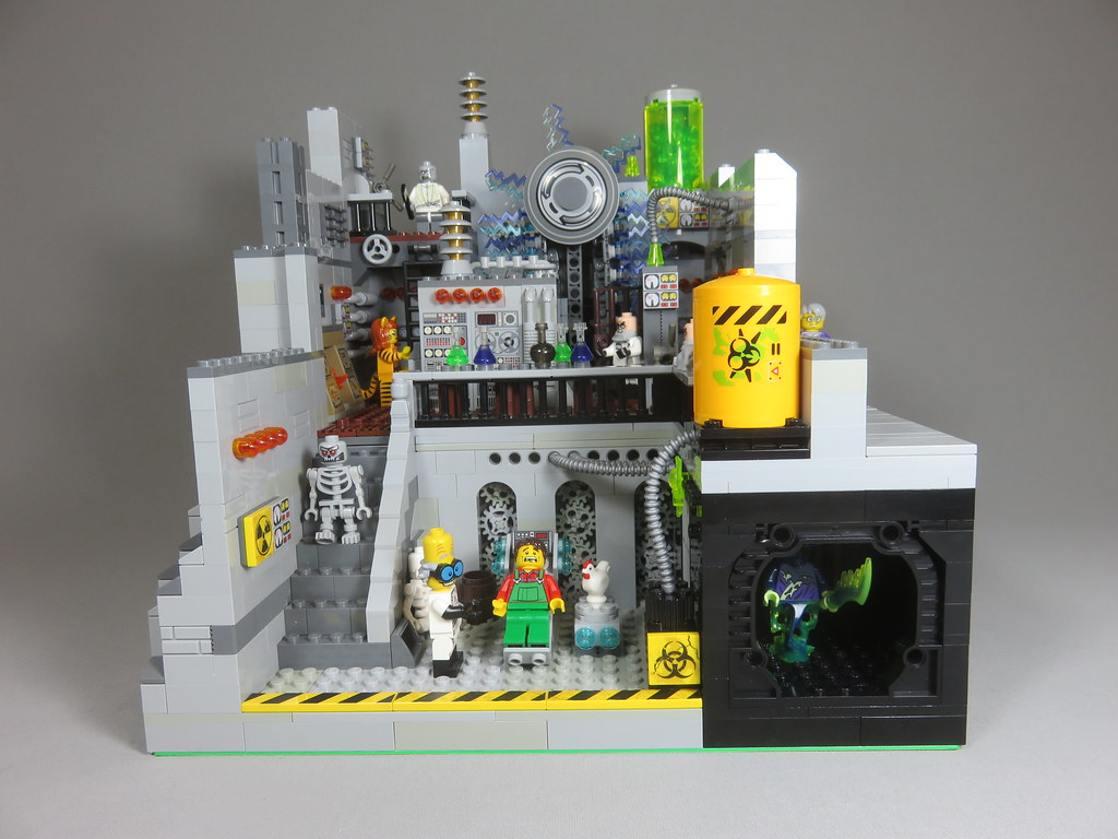 Mad Science Lab Created For The Science Museum Display Carrier Lost Flickr