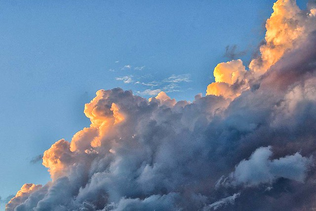 every cloud has a golden lining...lol