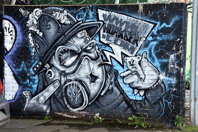 Mural / Graffiti / Street Art, Birmingham.
