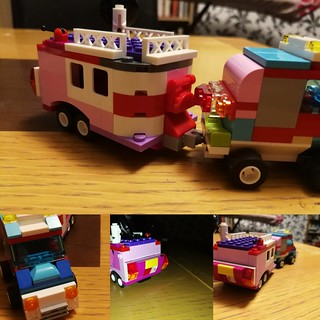 Nowhere near the level of amazing I often see online, but I'm pretty pleased with this caravan I made with the children last night. | by Nickoli