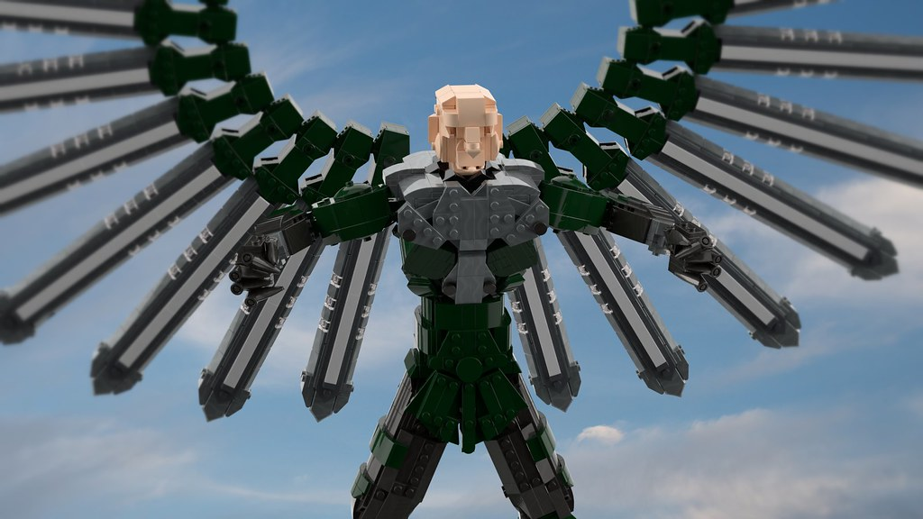 """Vulture (from """"Spider-Man: Web of Shadows"""")   Render by ..."""