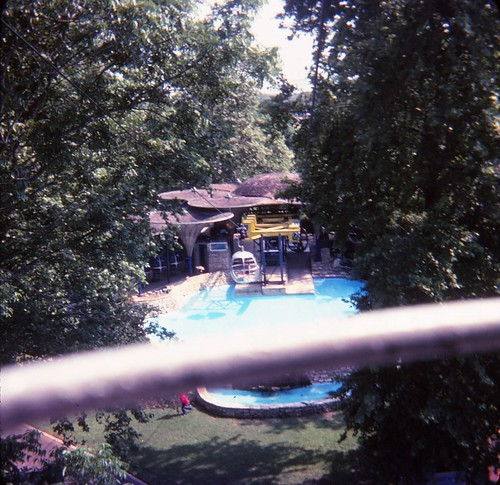 1970s texas lonestarstate aquarenasprings amusementpark themepark texasthemepark skyrideview aquarenaspringsskyride