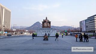 5 hari di Seoul - Patung King Sejong   by deffa_utama