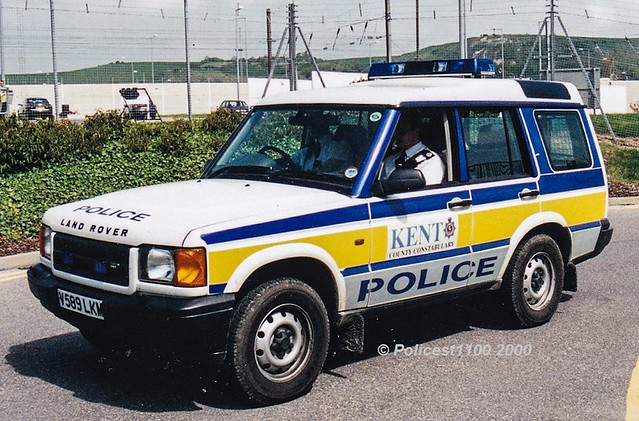 Kent Police Landrover Discovery V589 LKM