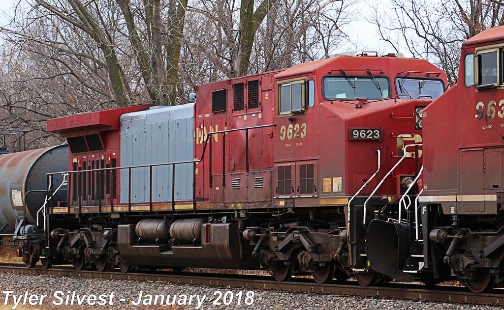 CP 9623 (AC44CW) | Burlington Northern Santa Fe 7149(ES44C4)… | Flickr