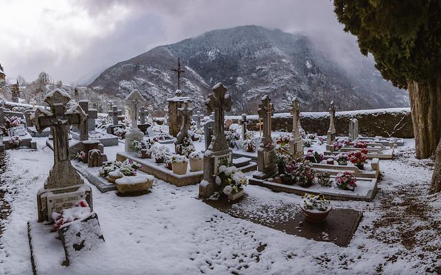Cementerio de Bausén, (Valle de Arán).