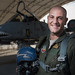 """Capt. """"Pinna"""" is an Italian air force exchange pilot with the 74th Fighter Squadron as part of the Military Personnel Exchange Program, Moody AFB, Jan. 16, 2018. (U.S. Air Force photo by Tech. Sgt. Greg C. Biondo)"""