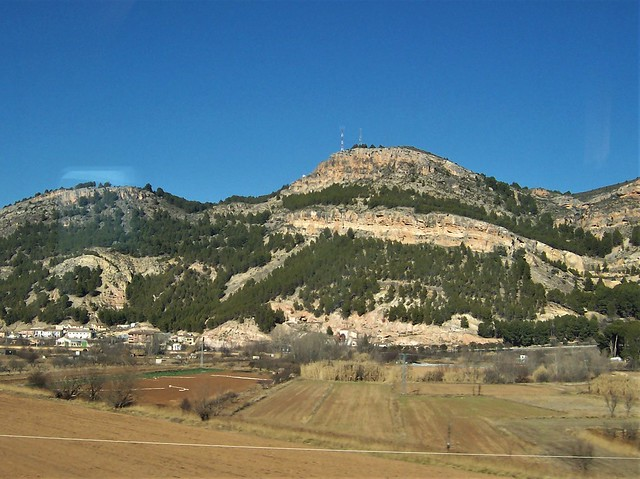 Craggy landscape in central Spain