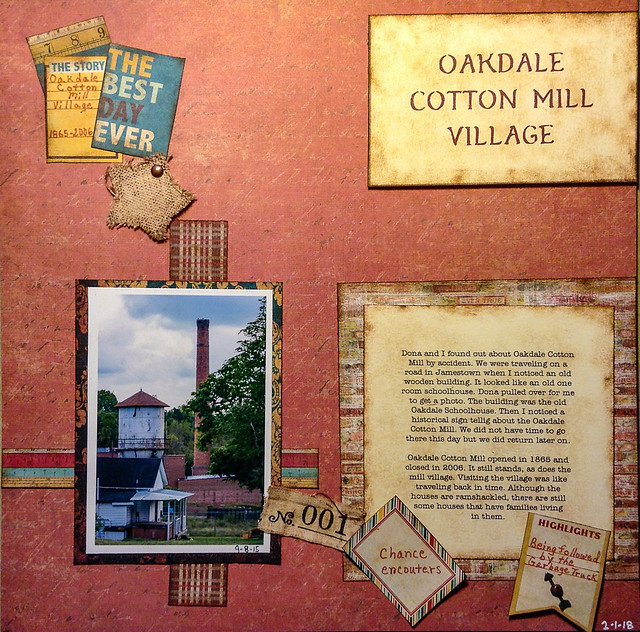 Oakdale Cotton Mill Village