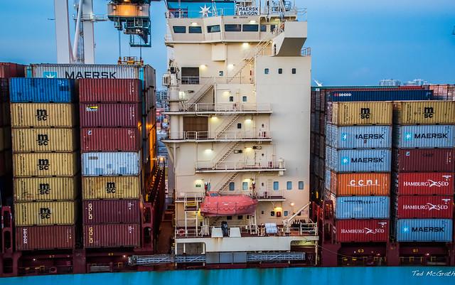 2017 - Regent Cruise - Miami - Maersk Saigon - 2 of 2