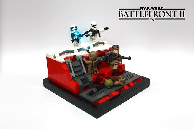 Galactic Assault on Crait