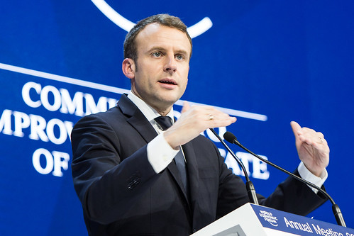 Special Address by Emmanuel Macron, President of France | by World Economic Forum