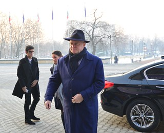 Informal JHA meeting (Justice): Arrivals | by EU2018BG Bulgarian Presidency