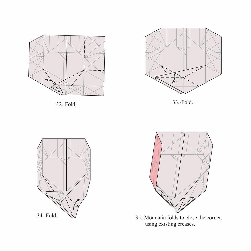 Origami Heart Box Diagram - Jadwal Bus
