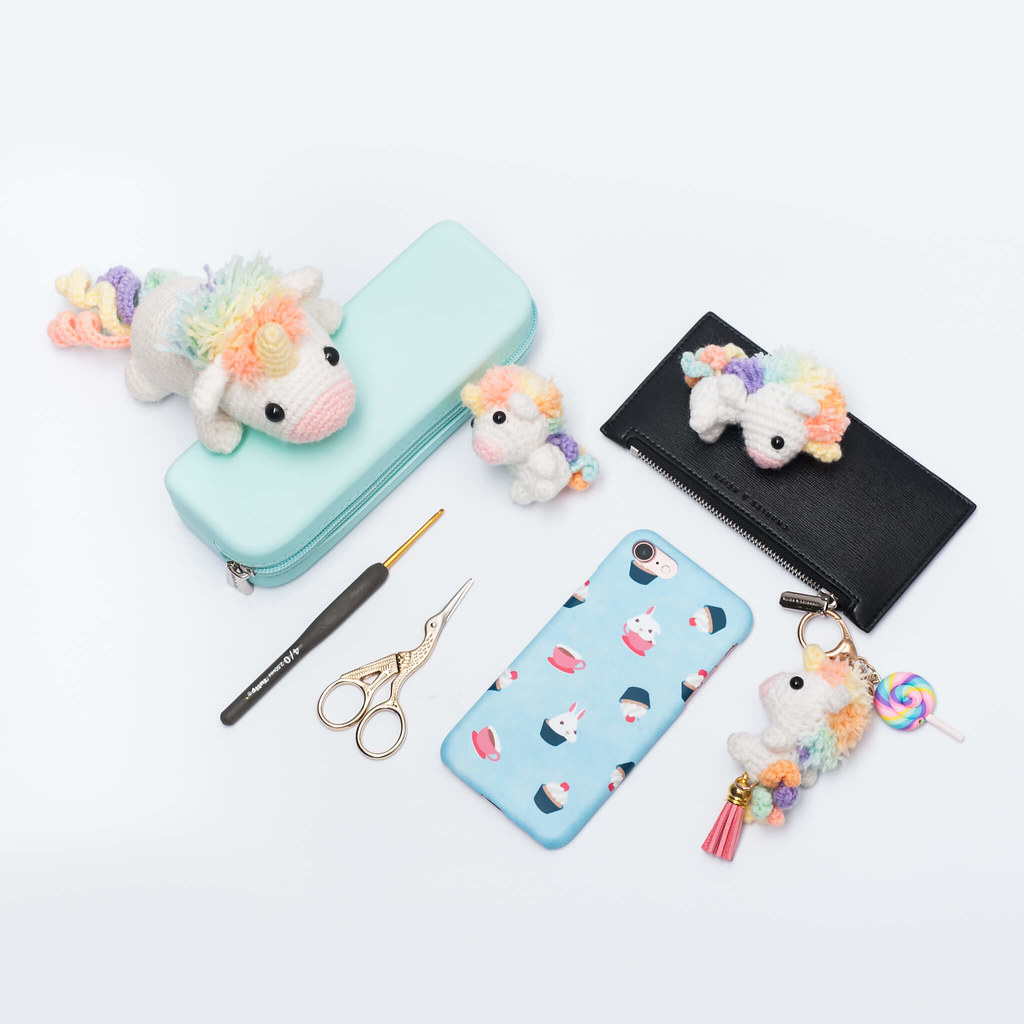 Crochet Unicorn Amigurumi - Repeat Crafter Me | 1024x1024