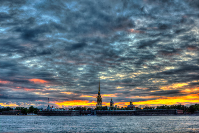 Peter and Paul Fortress at St. Petersburg