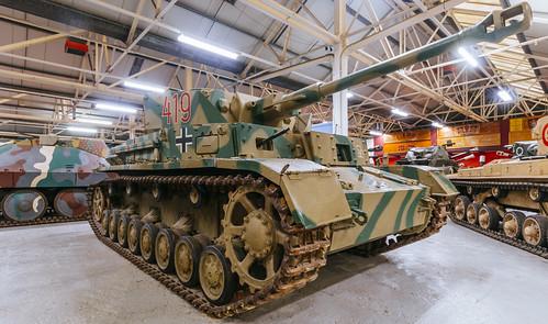 Panzer IV 419 (PzKpfw IV) at Bovington tank museum
