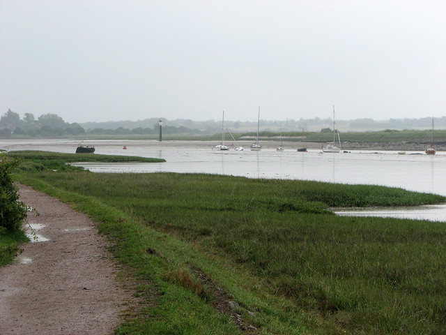 The River Colne east of Wivenhoe