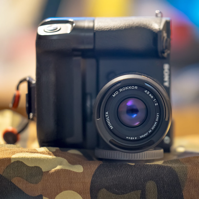 Minolta MD Rokkor 45mm ƒ/2 on SONY ⍺6500