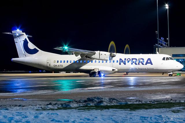 OH-ATO Norra ATR 72-500, EFTP, Finland
