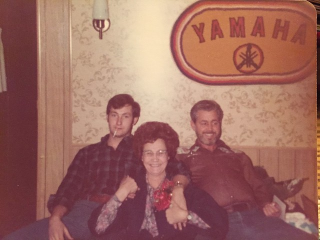 Woodie Wallace, Granny Mert Wallace and Uncle Ray Wills