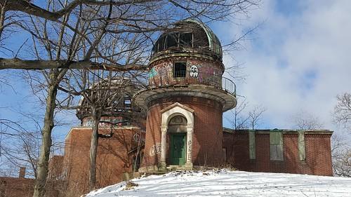 warnerandswaseyobservatory builtin1919 observatory casewesternreserveuniversity eastclevelandohio abandonedbuilding abandonedobservatory