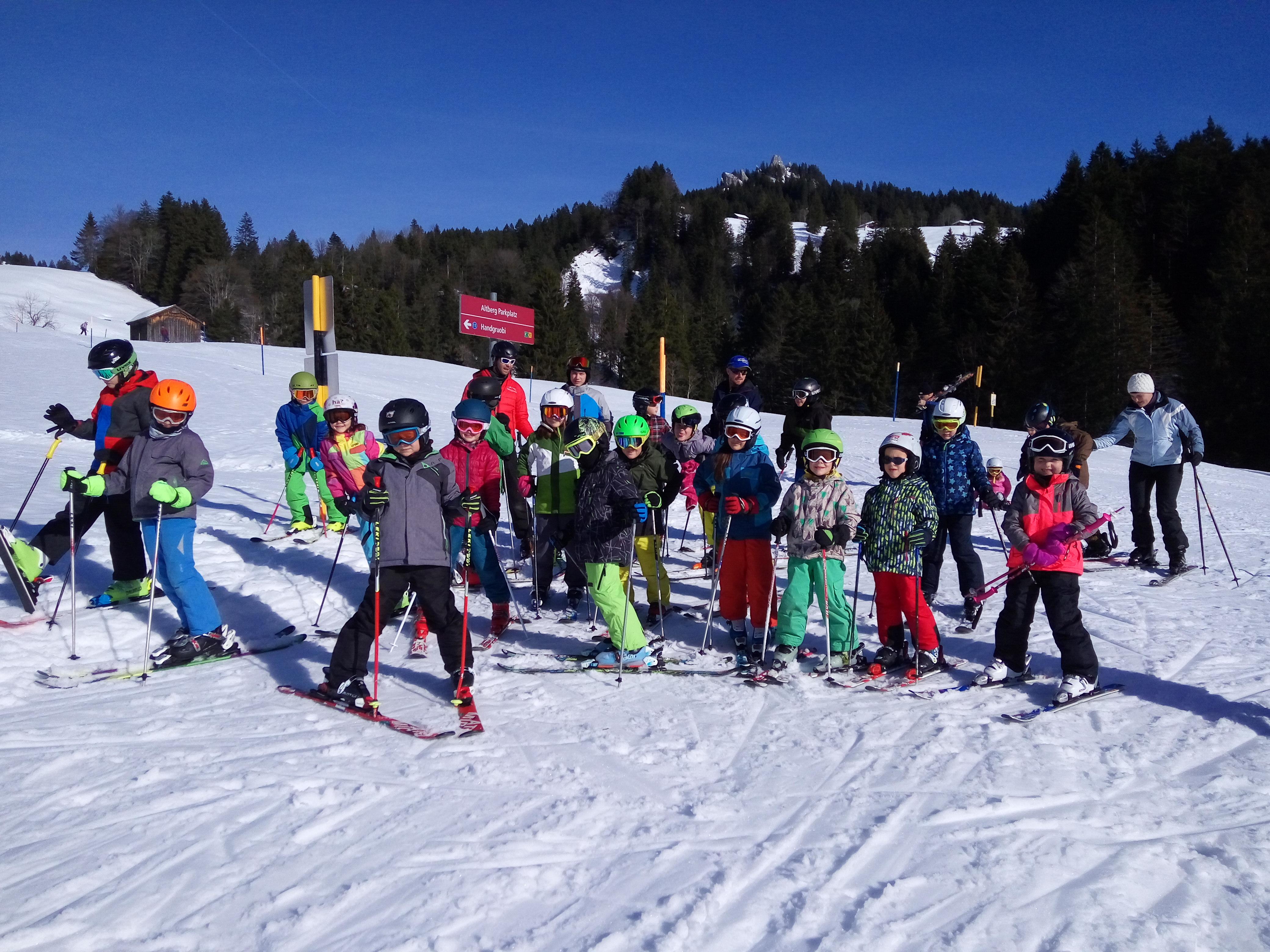 Skitraining 2018