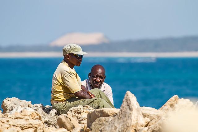 People at Bazaruto Island