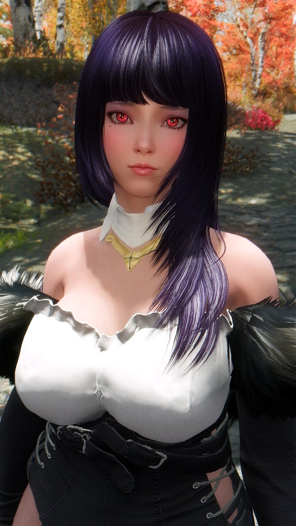 Close up | Mod clothes from BDO lady lucien  | Mea Kurosaki