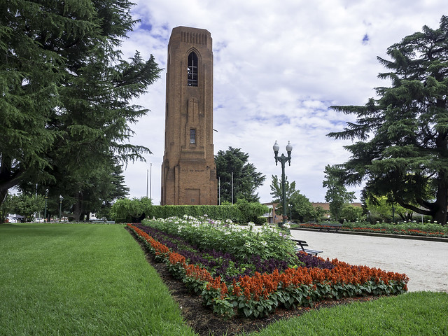 Bathurst Carillion War Memorial - see below