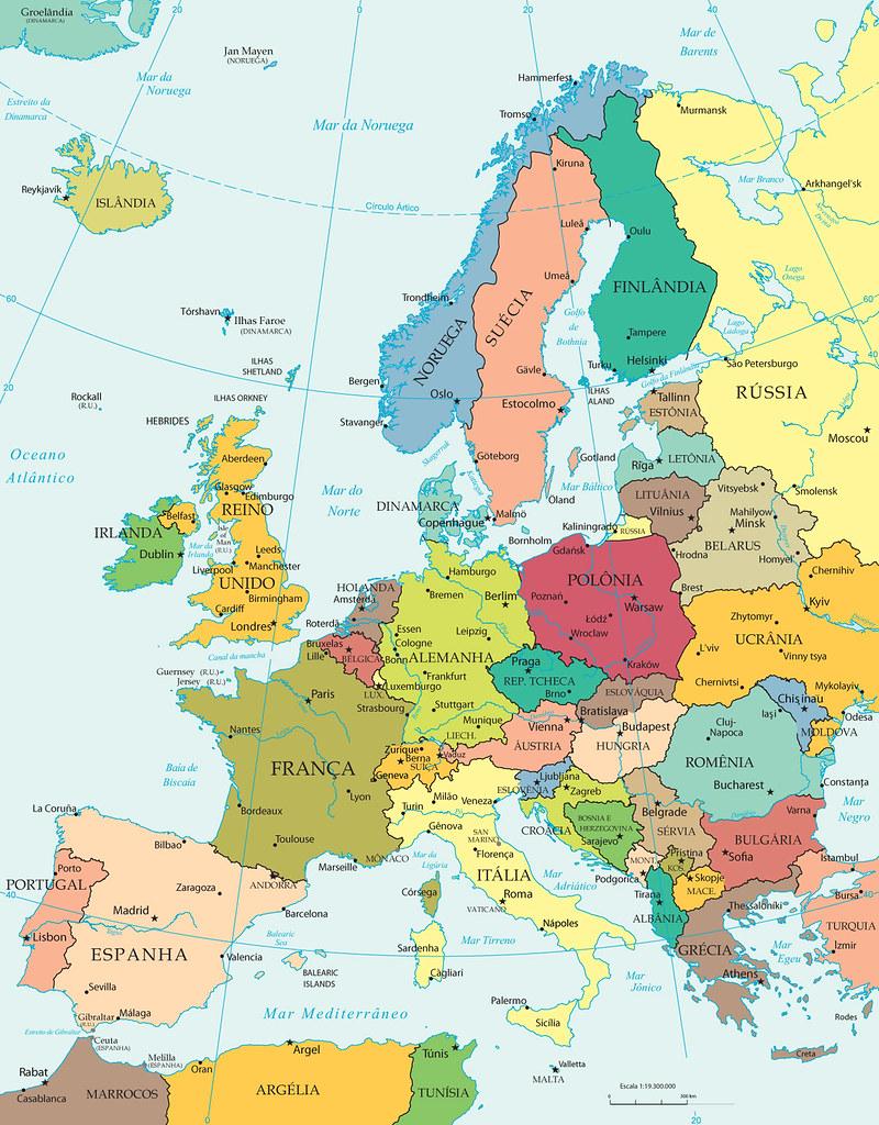 Mapa Europa Igor Sobayev Flickr