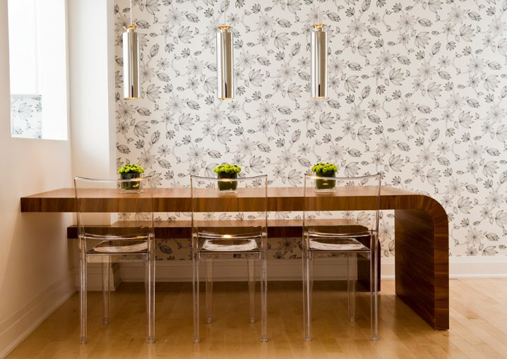 5- Ultra Modern Dining Room Interiors With Kids ghost chai ...