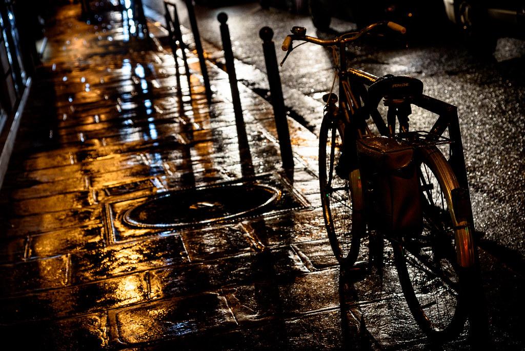 A night bike ride? | Nathalie | Flickr