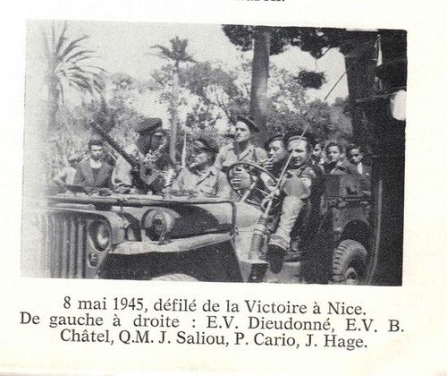 Défilé de la Victoire à Nice 8 mai 1945  Françaislibres.net
