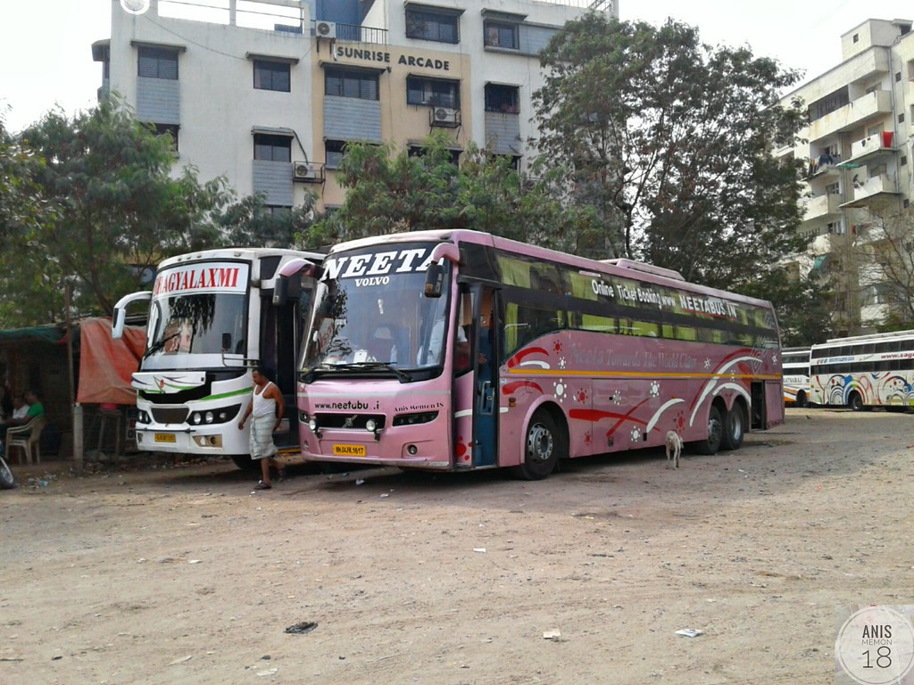 Neeta Travels Multi Axle Volvo B9r Sleeper Bus Route A
