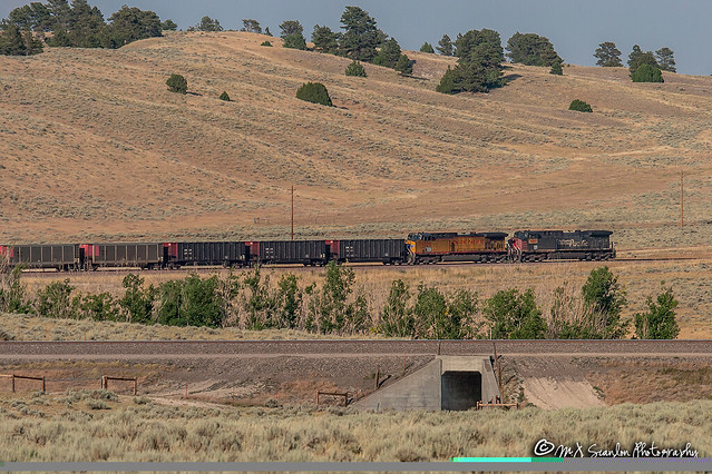 UP 6242 | GE AC4400CW | UP Powder River Subdivision