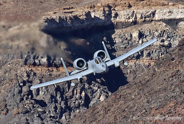 USAF A-10s at Rainbow Canyon
