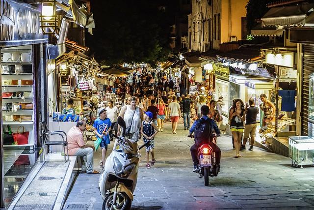 Rhodes at Night