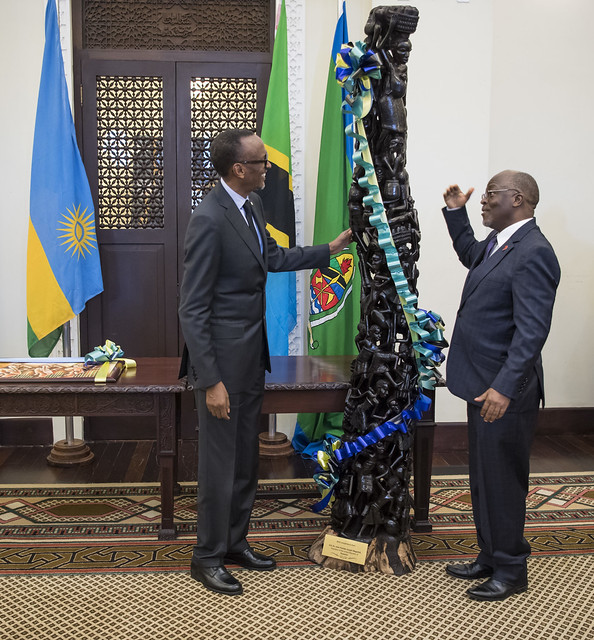 Working visit to Tanzania   Dar es Salaam, 14 January 2018