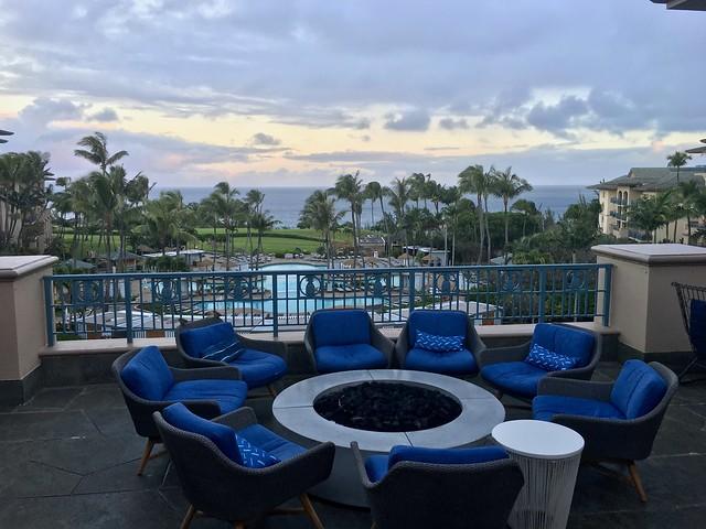 Evening Drinks, Ritz Carlton, Maui, Hawaii, USA