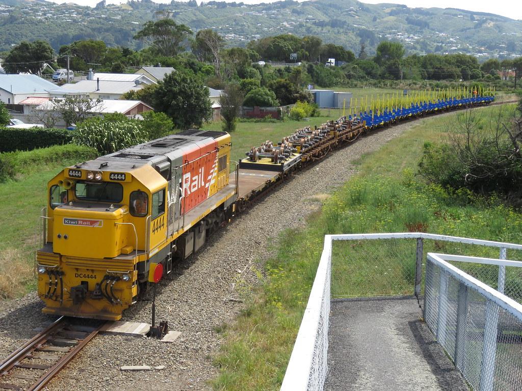 Dc 4444 09 02 2018 Moera Nz Dc 4444 With Kiwi Rail
