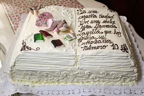 Torta tradicional con Fondant - Leseratte