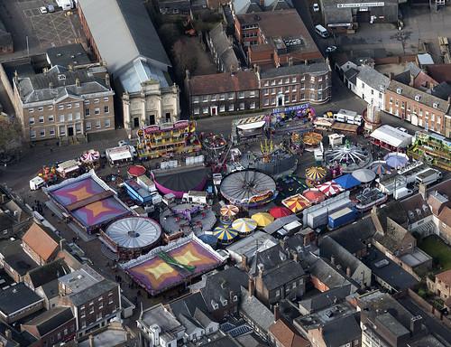 kingslynn mart themart funfair town above aerial norfolk hires viewfromplane drone aerialphotography aerialimage aerialphotograph aerialview aerialimagesuk hidef hirez highresolution highdefinition britainfromtheair britainfromabove