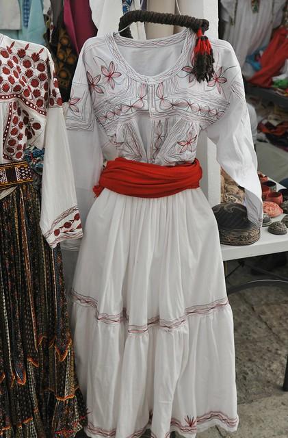 Traje Mixe Clothing Textiles Tlahui Oaxaca Mexico